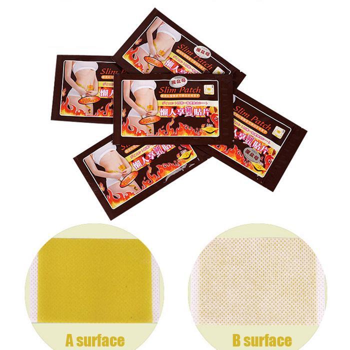 1300 piezas = 130 bolsas adhesivo ombligo Delgado parche Anti celulitis masaje productos de pérdida de peso de combustión de grasa Slim magnético parche-in Protector solar de cuerpo from Belleza y salud    1