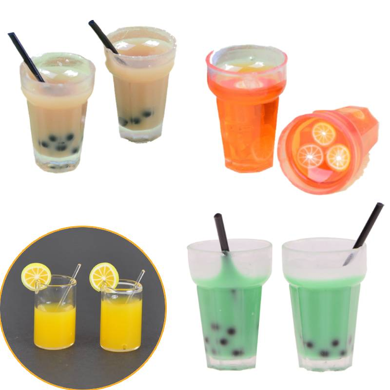 For Miniatures drinking a cup food Figurin Accessories for Dolls