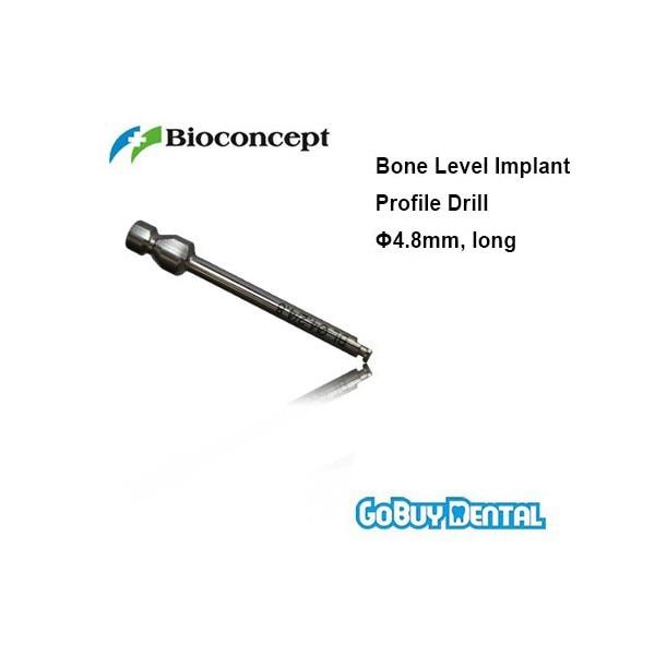 Straumann Compatible Bone Level Implant Profile Drill D4.8mm, longStraumann Compatible Bone Level Implant Profile Drill D4.8mm, long