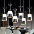 3Wx6 LED Cup Wineglass Modern LED Pendant Light Lamp With 6 Lights for Dining Room Bar Saloon,Luminaire Lamparas