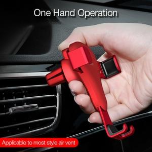 Image 5 - CAFELE reakcja grawitacyjna uchwyt samochodowy na telefon w samochodzie uniwersalny uchwyt na powietrze Vent stojak GPS telefon komórkowy uchwyt samochodowy do iPhone X XS 8