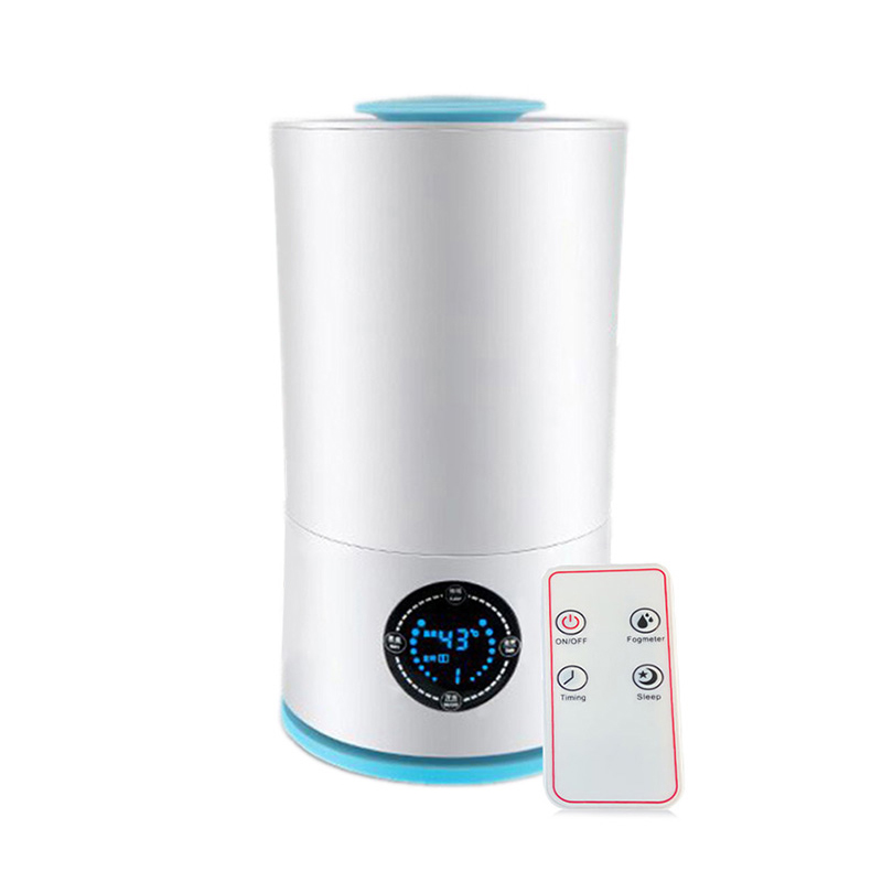 Two Versions Of Air Humidifier With Knob Or Remote Control Ultrasonic Mist Maker With Adjustable Mist Amount