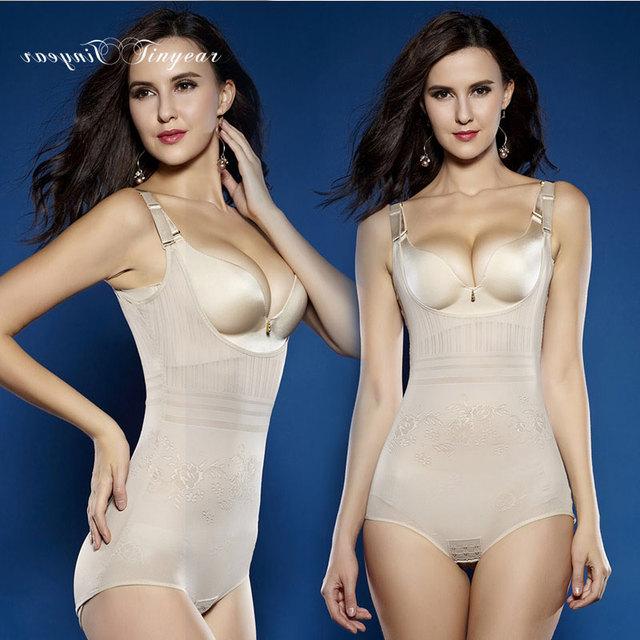 Free shipping Plus size Women Underwear Shaper S-6XL Sexy Shapewear Magnetic Corset Slimming Bodysuit Tow colors