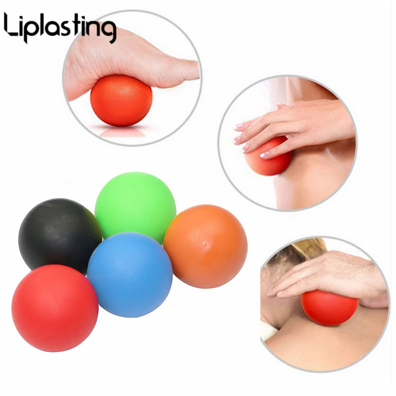 Liplasting Yoga Ball Gym Fitness Massage Lacrosse Therapy Trigger Point Body Exercise Sports Muscle Relax Relieve Fatigue Roller elite fitness massager roller stick trigger point muscle roller exercise therapy releasing tight body massage tool gym rolling