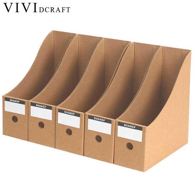 Vividcraft 5pcs/lot Practical File Paper Trays Desktop Tray Office