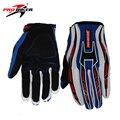 Pro-biker moto de la motocicleta que montan los guantes llenos del dedo guantes de motocross off-road racing guantes luvas luva da motocicleta moto