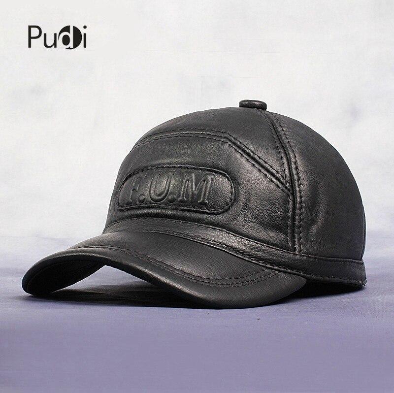 HL062 nouveaux hommes 100% en cuir véritable casquette de Baseball/gavroche/béret/Cabbie chapeau chapeaux/marque chapeau casquettes avec fourrure à l'intérieur