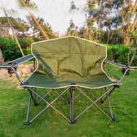 Outdoor Fishing Chair camping chair outdoor furniture garden furniture beach chair folding chair patio furniture two people BBQ
