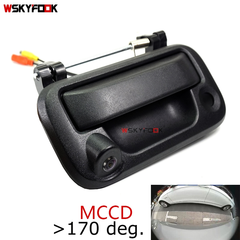 Super MCCD 1000L HD Car Rear View Backup Camera For Ford F150 F250 F350 F450 F550 F650 F750 Rover Tailgate Handle Reverse Camera