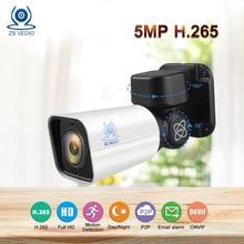 ZSVEDIO Surveillance cameras 5.0MP Mini PTZ IP Camera H.265 Cloud Storage 4X Optical IR Night vision Network P2P Security CCTV