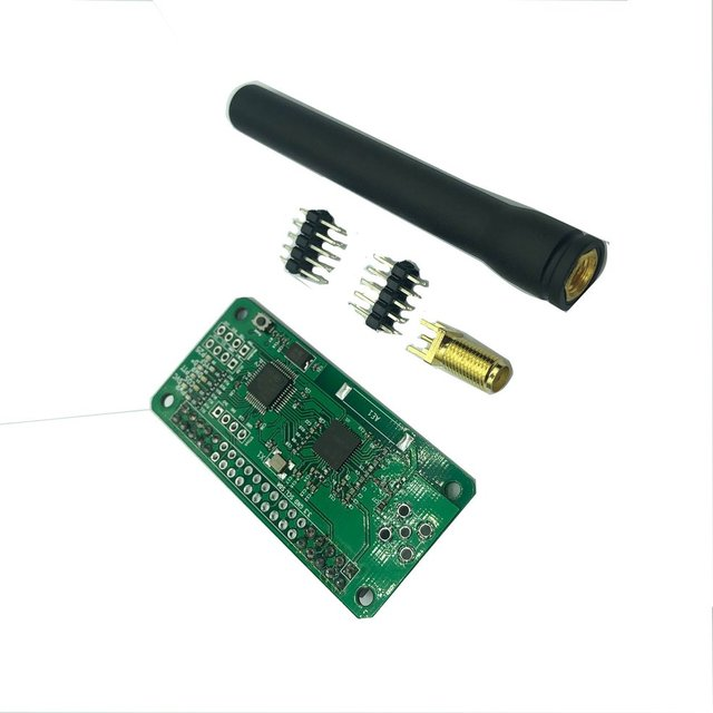 Professional Signal Receiver Parts Without Screen and Housing MMDVM Hotspot Support P25 DMR YSF for Raspberry Pi + Antenna