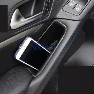 Car Styling Glove Storage Box Door Organizer Case 2009 2010 2011 2012 2013 2014 2015 For Volkswagen VW Tiguan Accessories