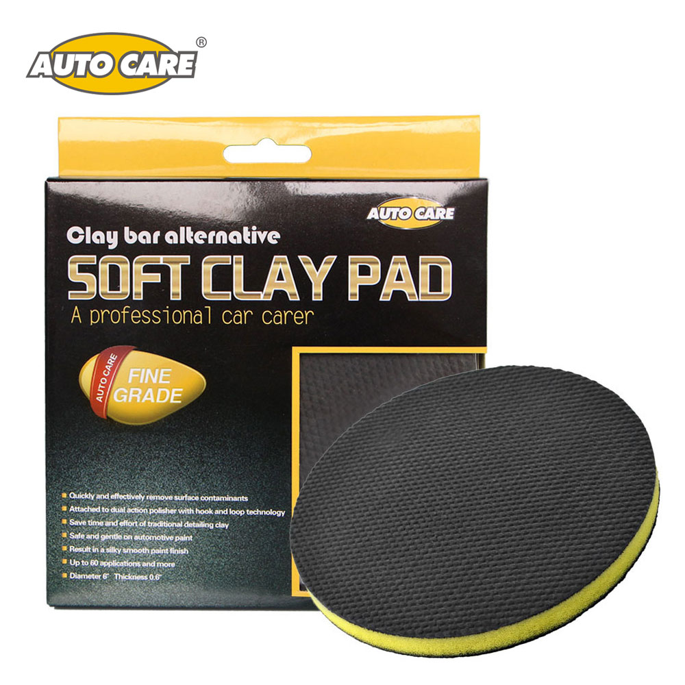 AutoCare Car Cleaning Sponges Car Polishing Clay Pad Auto Magic Clay Bar Pad Car Detailing Product Before Wax Polishing Pads цена
