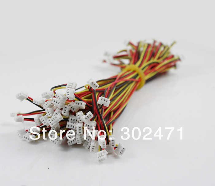 3-Pin plug met Draden Kabels 150 MM
