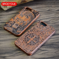 Wood Case For Xiaomi Mi5 Mi 5 5S Mi 5S Mi6 Mi 6 MIX Cases Bamboo