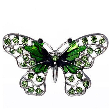 Green cute butterfly brooches small animal Fashion Brooch 2016 hot sale for women YL-81469