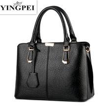 902ffb893 YINGPEI bolsos de mano de cuero para mujeres bolsos de hombro bolsas-de  mango de lujo de las mujeres Bolsa de mensajero famoso m.