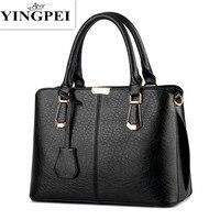 Women Leather Handbags Hot Medium Shoulder Bags Luxury Women Messenger Bag 2016 Famous Brands Female Tote