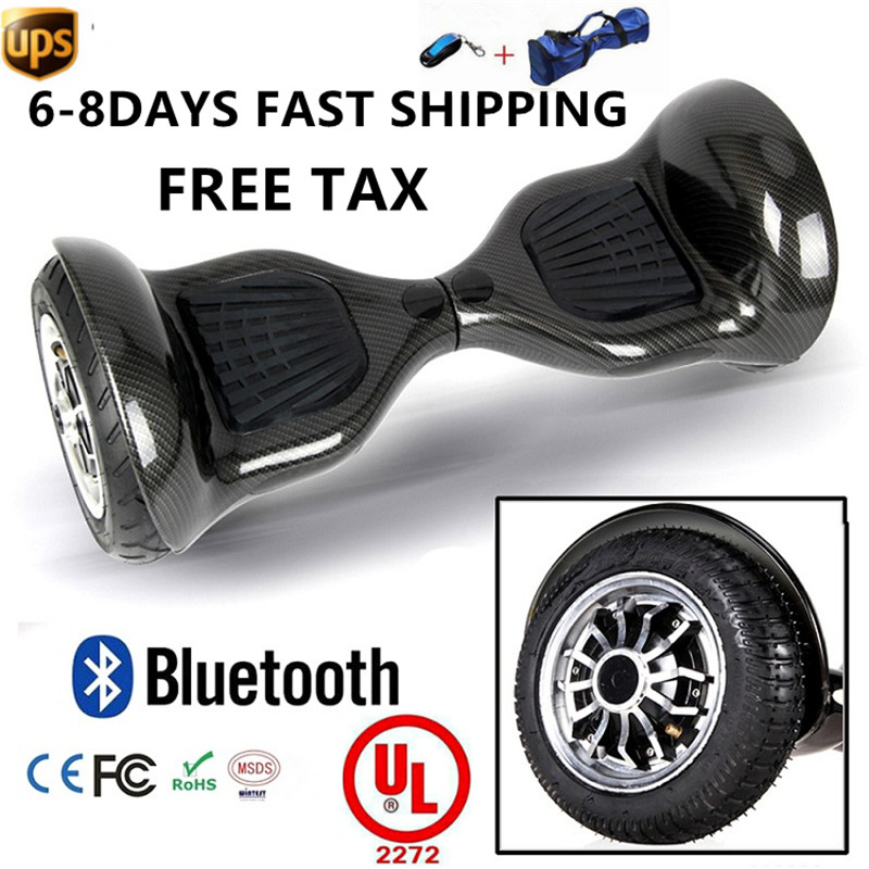 Electric Scooter Balance Skateboard 10 2 Wheels font b Hoverboard b font 2017 New