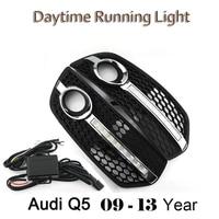 Car Styling DRL Daytime Running Light DC 12V Car Lights Waterproof Light Fog Driving Lamp Bright