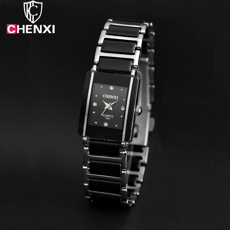 CHENXI Fashion Wrist Watch Women Watches Ladies Brand Luxury Famous Quartz Wristwatch Female Clock Relogio Feminino Montre Femme 2017 luxury brand fashion personality quartz waterproof silicone band for men and women wrist watch hot clock relogio feminino