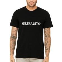 2018 Summer Fashion Hot Misky & Stone Despacito/ Slowly White Font Super Soft Unisex T-Shirt Tee T shirt  Free shipping newest