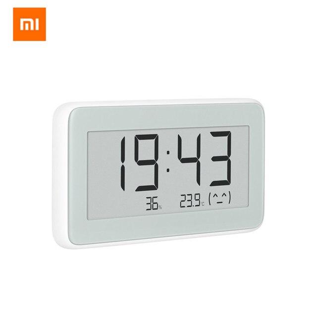 מקורי Xiaomi Mijia BT4.0 אלחוטי חכם חשמלי דיגיטלי מקורה וחיצוני מדדי לחות Therometer שעון כלים סט