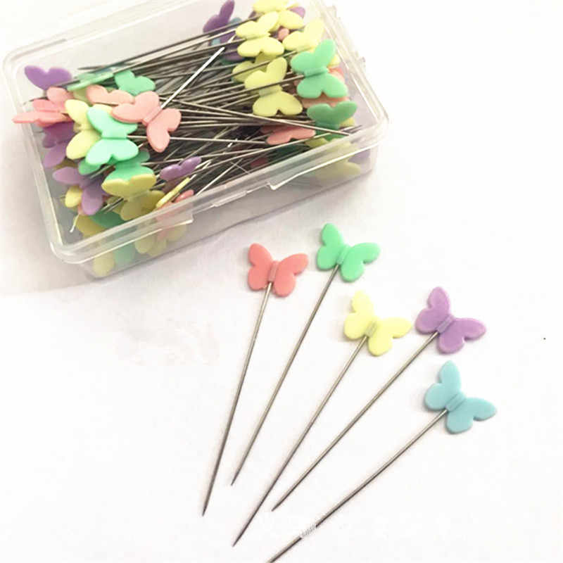 Stainless Steel Bow tie Love Dressmaking Pins Embroidery Patchwork Pins Accessories Tools Sewing Needle DIY Sewing Accessories
