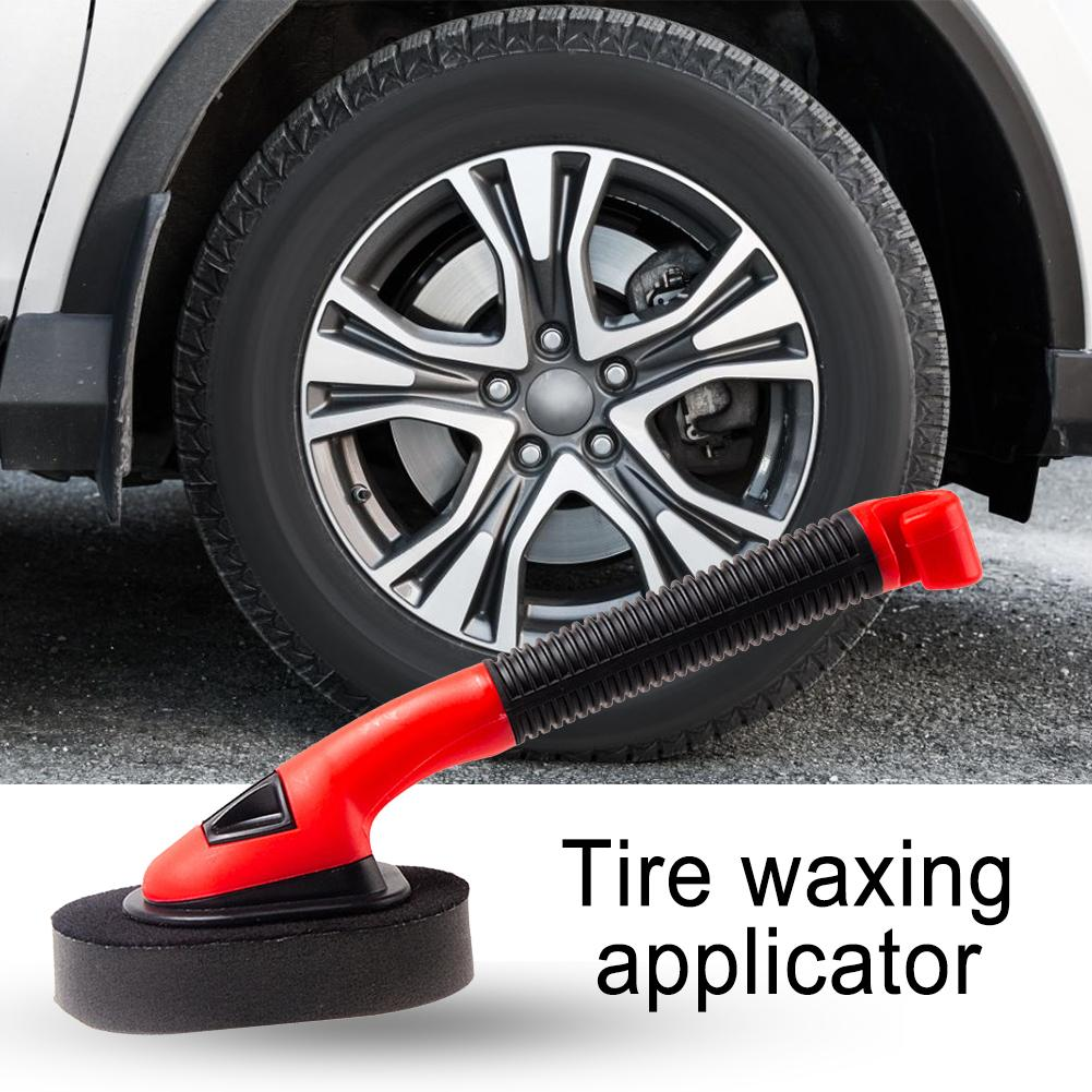 Autoband Applicator Auto Wiel Wasmachine Voor Gratis Toepassing Van Spons Foam Dressings Wax Applicator Spons Borstel Elegant In Geur
