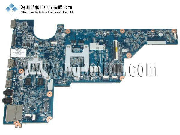NOKOTION 638855-001 Laptop motherboard for HP PAVILION g4 g6 G7 DDR2 GOOD Quality 100% test before shipment 639521 001 g6 g6 1000 connect with printer motherboard full test lap connect board