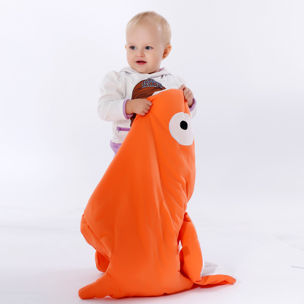 Cartoon-shark-baby-blankets-Newborns-Winter-Strollers-Bed-Swaddle-Blanket-Wrap-cute-Bedding