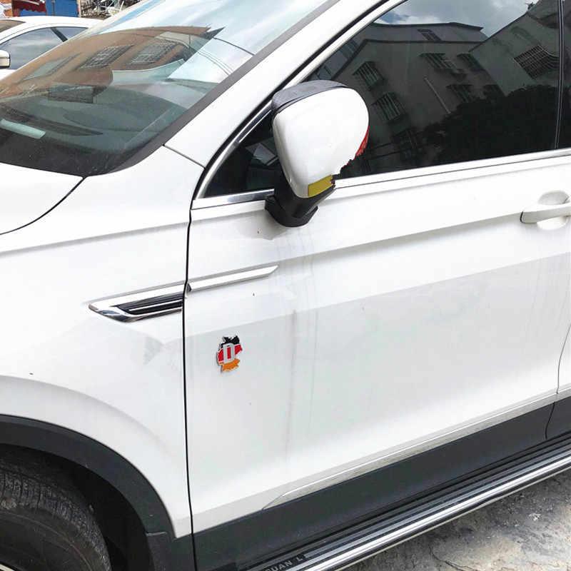 Newbee 金属 3D ドイツドイツの旗バッジエンブレムドイツ車のステッカーデカールグリルバンパーウィンドウ本体の装飾ベンツ VW アウディ