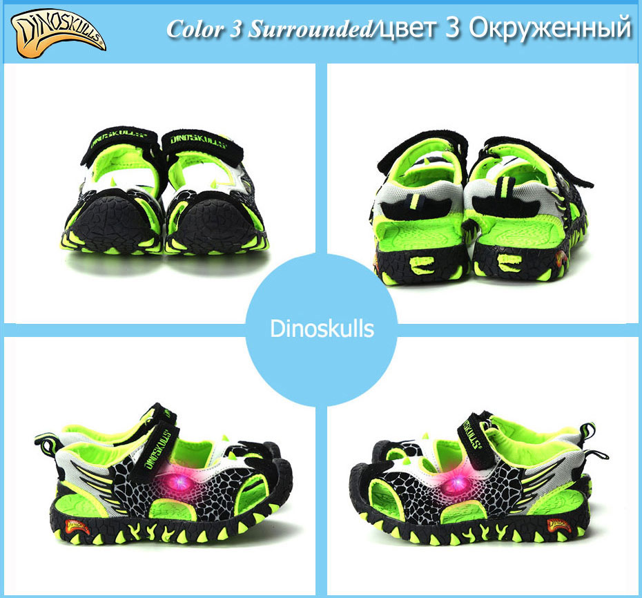 Children Sneakers Sandals Luminous 18