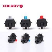 8 Pcs Original Cherry Mx Switch Mechanical Keyboard Switch Silver Mx Brown Blue Red Switch 3 Pin feet Cherry Mx Clear Switch