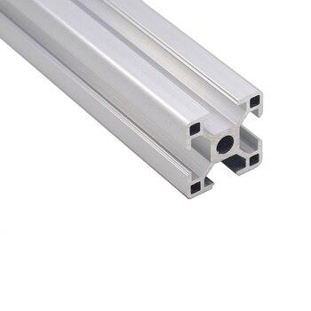 3030 алюминиевый профиль 300 350 400 450 500 550 600 мм линейный рельс алюминиевый профиль Экструзия 3030 экструзия ЧПУ 3d части принтера