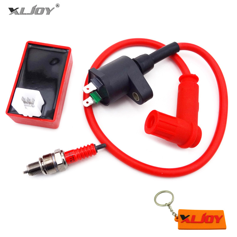 Performance Ignition Coil CDI Box Spark Plug For 50CC 70CC 90 110CC Chinese ATV