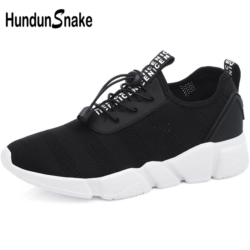 Hundunsnake Summer Man Sneakers 2018 Breathable Mens Sports Shoes Sport Shoes Men Running Shoes For Men Footwear Black Gym T312