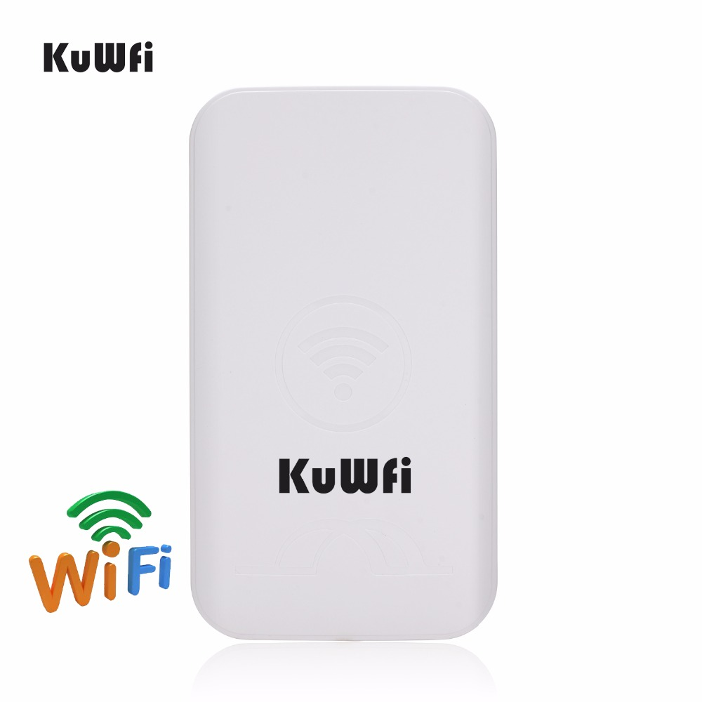 Image 4 - KuWFi 300Mbps 2PCS 1 3KM Outdoor CPE Router 5G Wireless Access Point Router Wifi Bridge Wi fi Extender CPE Router With 24V POE-in Wireless Routers from Computer & Office