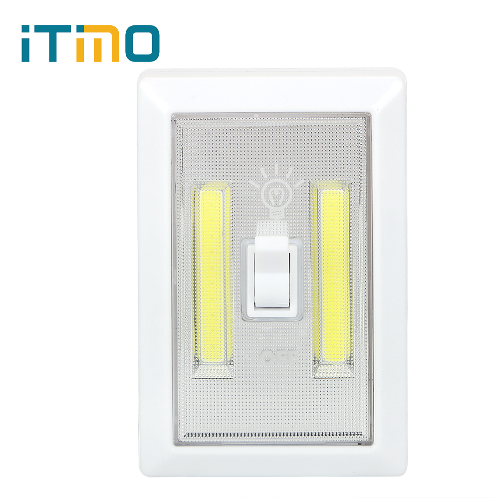 Night Light Maintenance Lamp Mini COB LED Lamp Battery Operated Switch Indoor Lighting Bright Magnetic Emergency Light