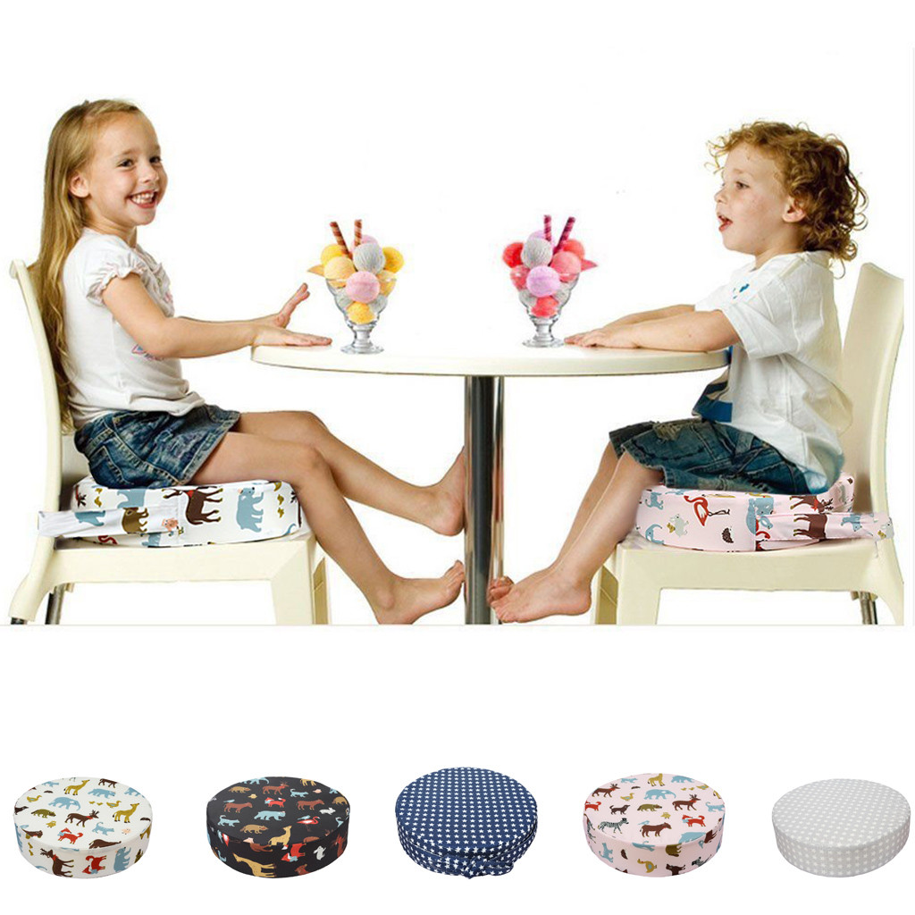 Baby Kids Booster Seat For Dining Portable Thick Chair Increasing Cushion Baby Chair Coussin Augmentant Chaise Fashion Gg