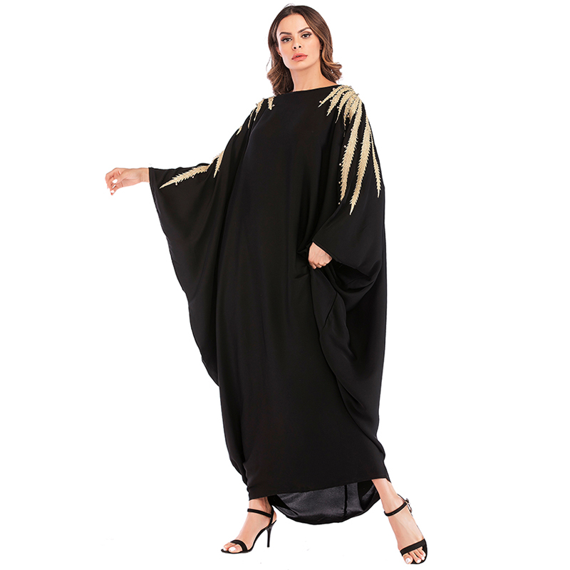 Abaya Dubai Kaftan Arab Islam Qatar Uae Pearls Muslim Hijab Dress Oman Caftan Jilbab Abayas For Women Turkish Islamic Clothing
