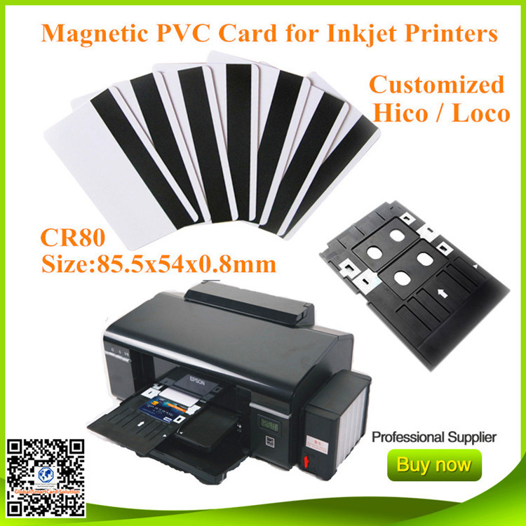 Access Control Security & Protection Frugal 400pcs Hico Magnetic Inkjet Printable Cards For Epson R290 R330 T50 L800 R230 R300 R310 R390 Rx680 T50 T60 A50