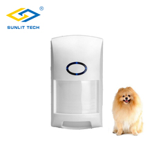 Wirless dupla pir sensor de movimento pet imunidade 25 kg sistema de alarme para 433 mhz segurança em casa inteligente detector de sensor de movimento infravermelho