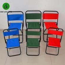 2015 New Promotion Metal Cadeira Dobravel Silla Plegable Iron Chair Portable Folding Chair Small Outdoor Fishing Mazha Stool