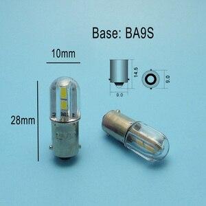 Image 5 - MIDCARS 6V t4w ba9s e10 LED LIndicator licht 36V Birne, h21W BAY9S 12V SMD LEDs/ 48V 24V bis 60V Birne großhandel