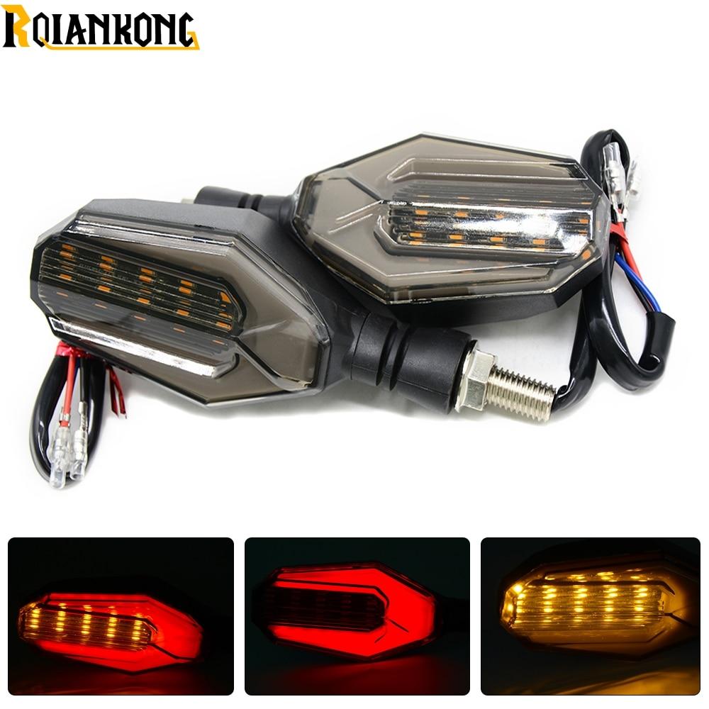 Moto LED clignotant clignotant clignotant Lampe Indicateur pour Yamaha FZ6/FZ8/FZ-1/XJ6/09/FJ de 09/FZ