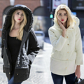 2 Color Long Womens Winter Jackets And Coats 2016 Thick Warm Women Parka Women's Winter Jacket Female Down Cotton Anorak Femme