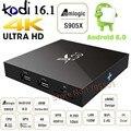 Smart X96 TV Box Amlogic S905X Android 6.0 Ultra HD 4K HDR Set Top BOX Quad Core 2.4GHz WiFi HDMI 2.0 with USB 2.0 Set-top Box
