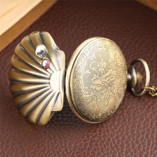 Купить русалка в виде ракушки карманные часы уникальный глянцевого картинки