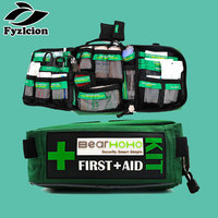 Hunting Outdoors Car Luggage School Hiking Survival Kits First Aid Kit Bag 165 Piece Emergency Medical Rescue Workplace